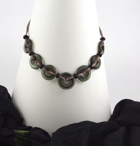 "Collier en verre ""So Chic !"" - Floriane Lataille"