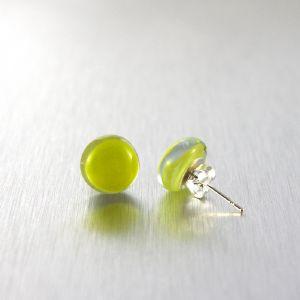 prix pas cher recherche d'authentique style classique de 2019 Boucles d'oreille en verre